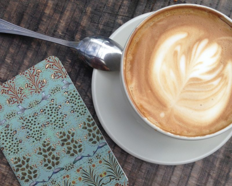 A perfect dairy- free cuppa coffee