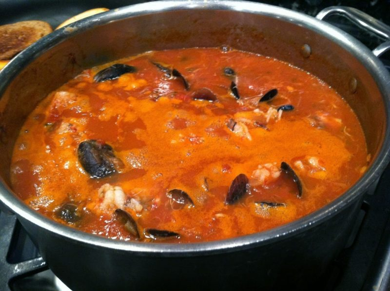 Seven-Minute Cioppino